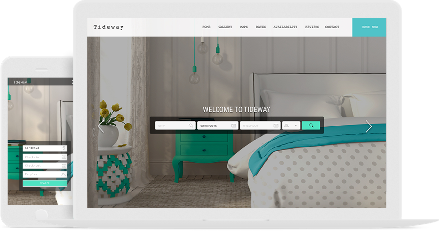 The Best Vacation Rental Website Templates & Design