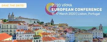 VRMA European Conference 2020 Lisbon Portugal